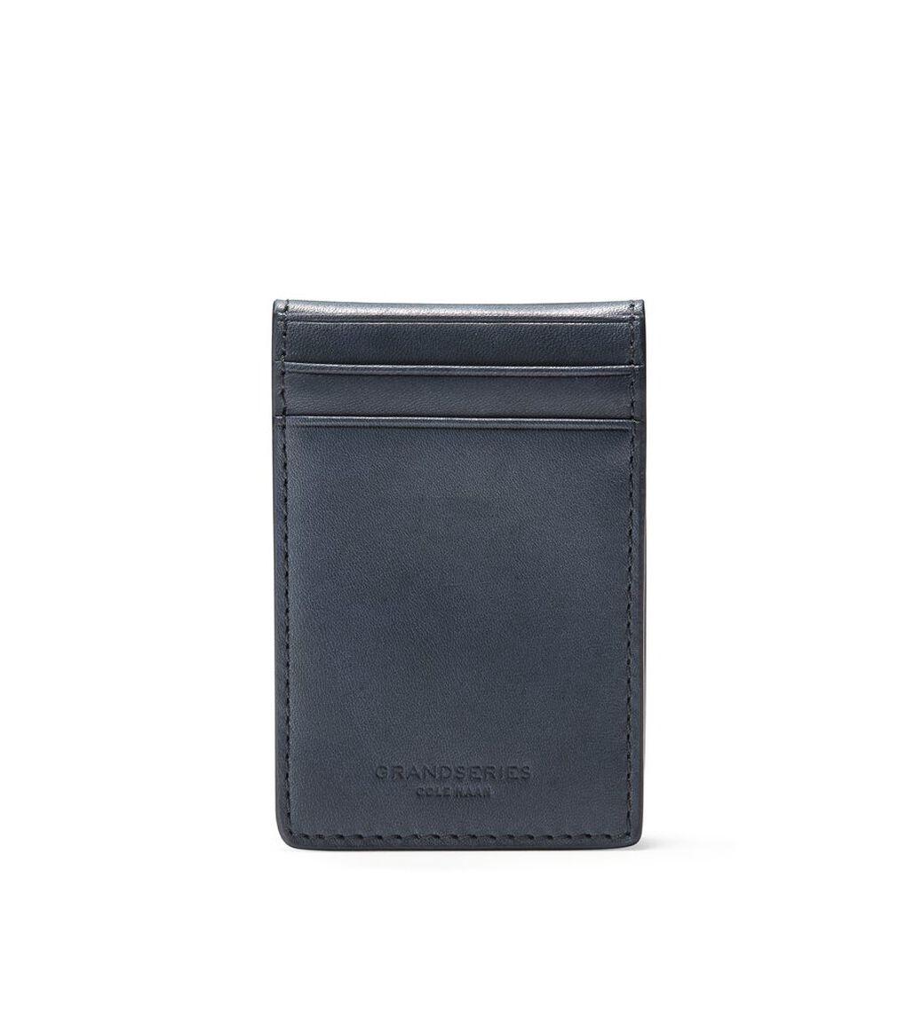 フォールド カード ケース W/ マネー クリップ mens