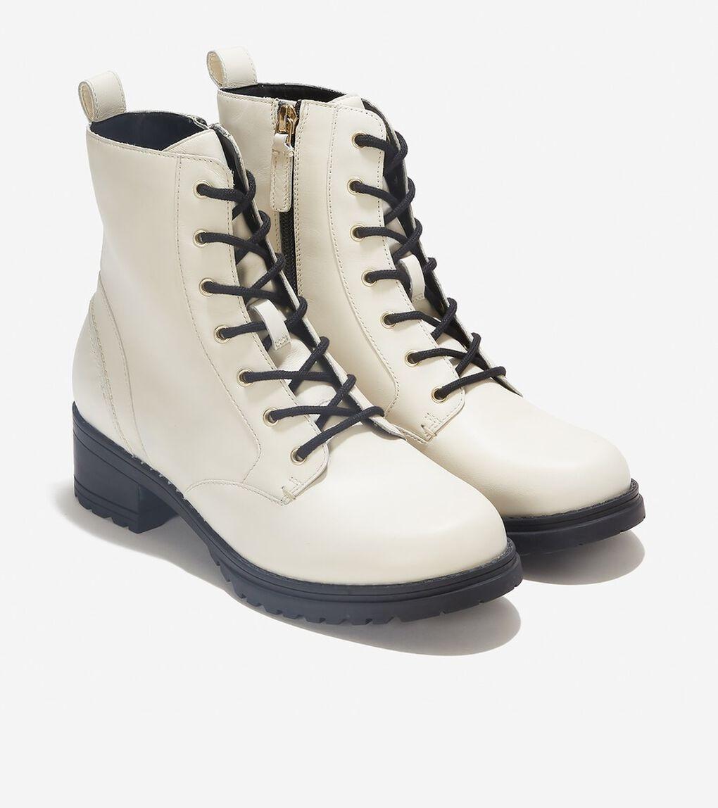 カメア ウォータープルーフ コンバット ブーツ womens